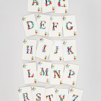 A-Z Alphabet Makeup Bag (25cm x 18cm) – Multi