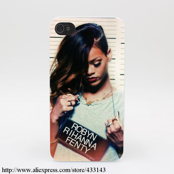 814M Robyn Rihanna Fenty Hard White Cover Case for iPhone 7 7 Plus 6 6s 6 6s plus 5 5s SE 5C 4s