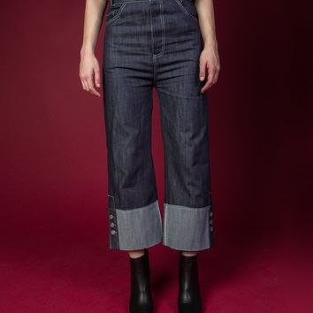 [SAMPLE] High Waisted Wide Leg Jeans