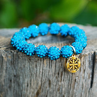 Emerson Turquoise – Rustic Cuff