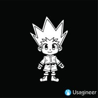 HUNTER X HUNTER GON FREECSS ANIME DECAL STICKER