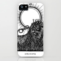 Strength Tarot iPhone & iPod Case by Corinne Elyse | Society6