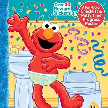 Sesame Street Potty Training Ultimate Sticker Book - CASE OF 48