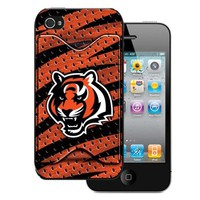 Cincinnati Bengals iPhone 4 Case with Credit Card Holder