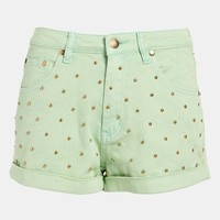 MINKPINK 'Cheeky Stud' High Waist Shorts | Nordstrom