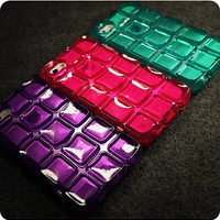 New Crystal Transparent Keyboard Silicon Case Cover For Apple iPhone 5 5S Clear Case PC Keyboard Rubber Case For Phone