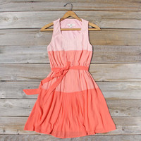 Peach Grove Dress in Peach