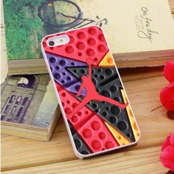 CREYUG7 Jordan Retro 7 Raptors iPhone 5|5S|5C Case Auroid