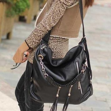 Oryer Fashion Women's Hobo Bag Pu Leather Handbag Shoulder Bag