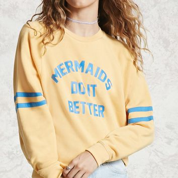 Mermaids Graphic Sweatshirt