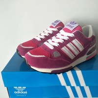 """""""Adidas 750"""" Women Sport Casual Multicolor Stripe Sneakers Running Shoes"""