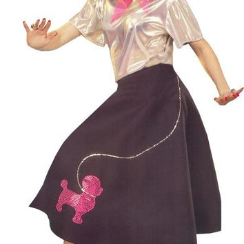 Poodle Skirt Adult Women's Costume