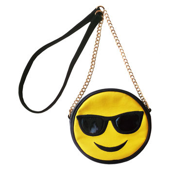 Olivia Miller Cool Shades Emoji Crossbody