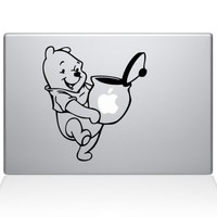 Pooh Honey Macbook Vinyl Sticker Laptop Skin