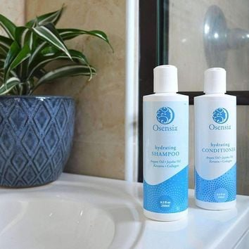 Argan Oil Shampoo and Conditioner Set for Dry Color Treated Hair