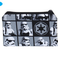 NEW Star Wars  Zipper Pouch | Storm Troopers | Zipper Bag | Zippered | Hand Pouch | Makeup Bag