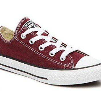 Converse Chuck Taylor All Star Ox Burgundy 339794F Youth Shoes