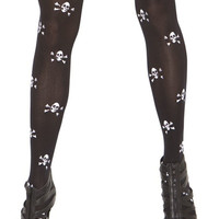 New arrival sexy Skull Thigh High Stockings
