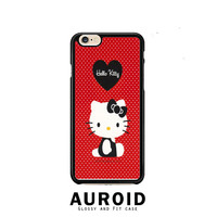 hello kitty red iPhone 6 Plus Case Auroid