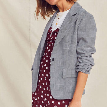 Urban Renewal Remade Checked Blazer | Urban Outfitters