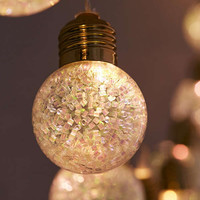 Glitter Globe String Lights | Urban Outfitters