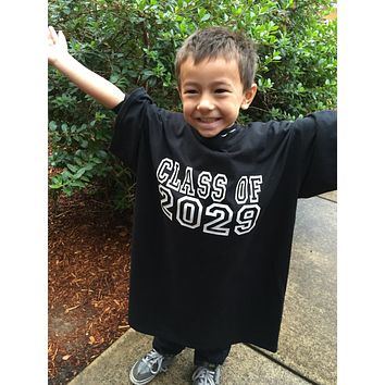 Back to School Photo Prop T-Shirt for Kids Class Of