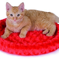 Thermo-Kitty Fashion Splash Cat Bed