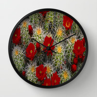 Cactus Wall Clock by Giftstore2u
