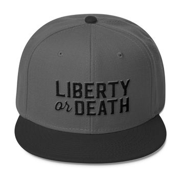 Liberty Or Death Wool Blend Snapback