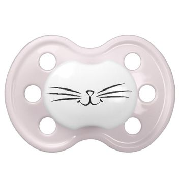 Meow Cat Kitten Whisker Pacifier