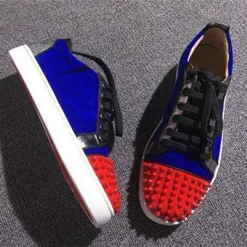 DCCK2 Cl Christian Louboutin Low Style #2060 Sneakers Fashion Shoes