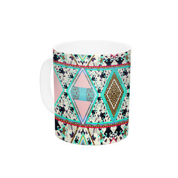 "Vasare Nar ""Deco Hippie"" Ceramic Coffee Mug"
