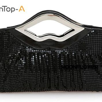TenTop-A Women's Iron Sheet Evening Bag Bride Party Handbag Wedding Clutch Purse Lady Party Dress Accessory Bag Many Style/Color