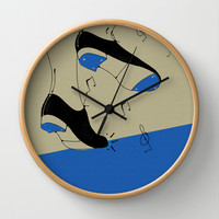 tap dancing  Wall Clock by spinL