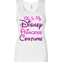 This is my Disney Princess Costume Tank Top