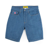 GOLF DENIM SHORTS BLUE