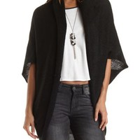 Chunky Cocoon Cardigan Sweater by Charlotte Russe