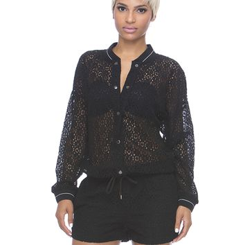 LACE YOUR BETS ROMPER