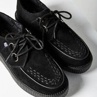 T.U.K. Suede Low Viva Creeper Shoe | Urban Outfitters