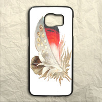 Color Feather Samsung Galaxy S6 Case