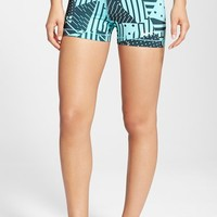 Women's Nike 'Pro' Dri-FIT Patchwork Shorts,