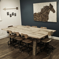Ellis Solid Oak Farm Table
