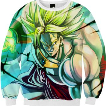 dragon ball z dbz saiyan created by that_poe_girl | Print All Over Me