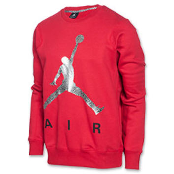Men's Jordan Jumpman Air Fleece Crew Sweatshirt
