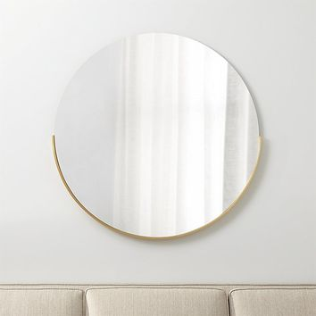 Gerald Large Round Wall Mirror