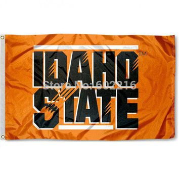 Idaho State Bengals College Large Outdoor Flag 3ft x 5ft Football Hockey Baseball USA Flag
