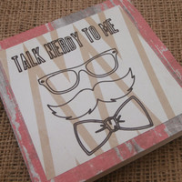 Talk Nerdy To Me Greeting Card, Flirty Card, Funny Card, Geek Love Card