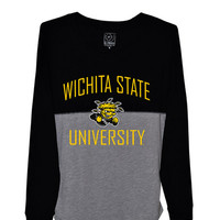 Wichita State Shockers Womens Sideline Jersey T-Shirt