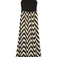 Mod Stripes Maxi Dress