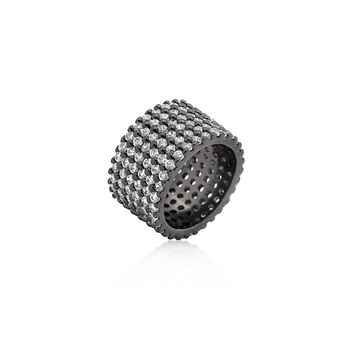 Simplistic Pewter Ring - Similar to Cartier